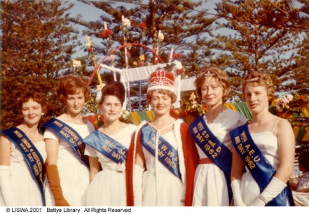 May Day Queen 1962