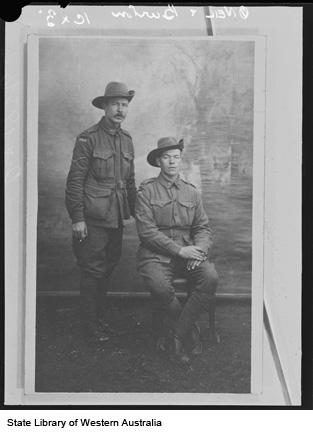 Corporals O'Neil & Burton
