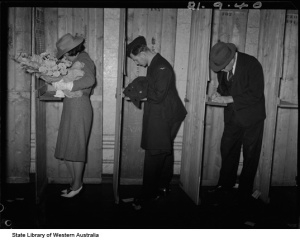 Polling booths 1940