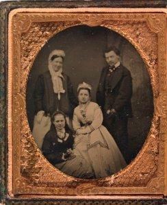 Unidentified family portrait