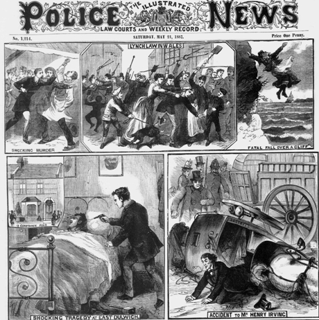 Illustrated Police News, May 21 1887