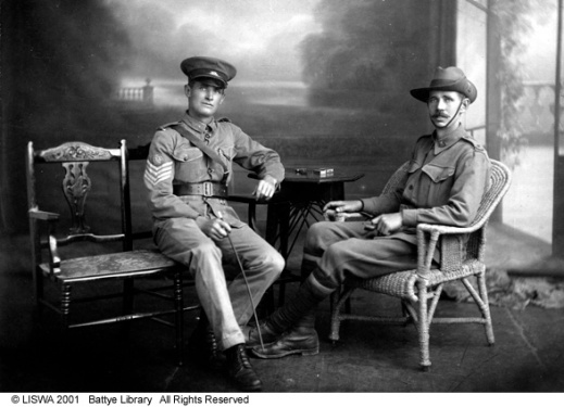 1914 - C. Longmore and his brother H. Longmore, killed in action at Gallipoli.