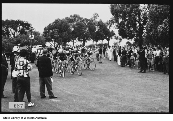 6. The 120 mile road race held in King's Park, 1962