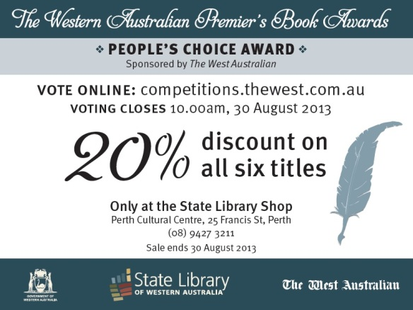 2013 Western Australian Premier's Book Awards Shop Special