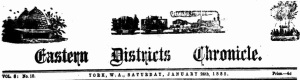 Eastern Districts Chronicle: York