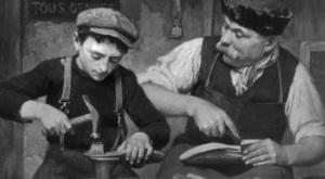 Apprentice shoemaker
