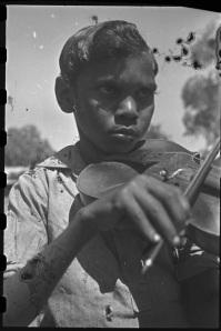 Violinist, Derby 1948.