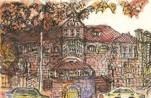 "Sketchbook by Amanda Fernandez, 2014 ""WA Museum"""