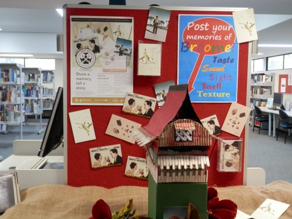 Broome Library gets into the Memory House spirit, 2014. Photo credit: Broome Library