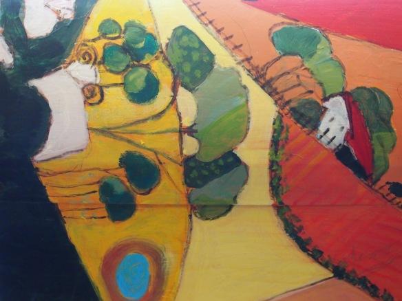 Merredin Library letterbox (details), Merredin Artist Society 2014