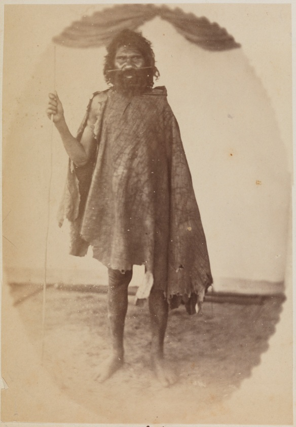 Aboriginal man, Daakin (6923B/26) appears on page 12 of the album