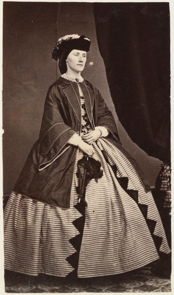 Miss Elizabeth Louisa Hardey, September 1862 (6923B/143) - appears on page 59 of the album