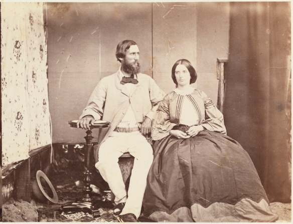 Mr and Mrs R.D. Hardey, nee Maria Jemima Stone (6923B/146) appears on page 60 of the album
