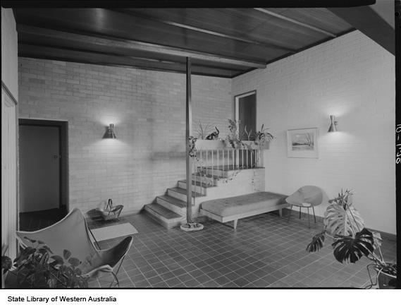 Stott residence Dalkeith 1962 Eric Moyle Architect State Library of WA 340565PD