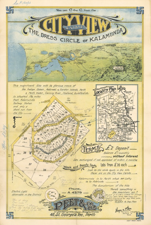 57/7/2: Cityview Estate: the dress circle of Kalamunda