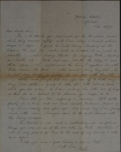 Letter from Edith Reynolds 1951 Princep papers Acc7093A 51