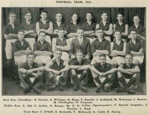 Albany High School (Boronia) Dec. 1931