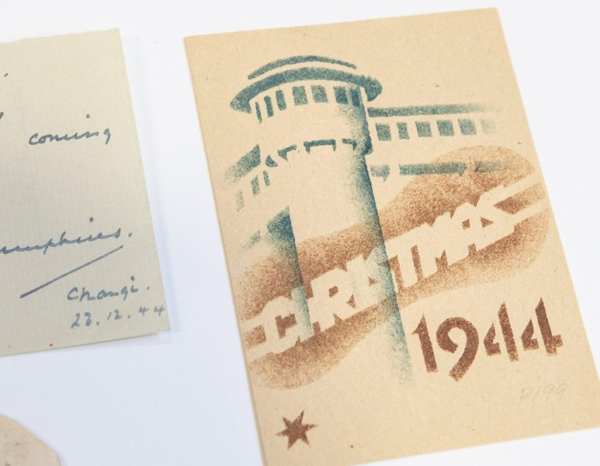 Christmas 1944, Changi POW camp. A.E. Saggers papers, ACC 5365A/15